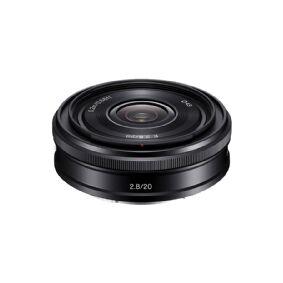 Sony SEL20F28 - Vidvinkelobjektiv - 20 mm - f/2.8 - Sony E-mount