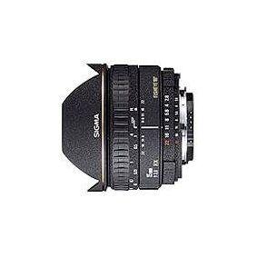 Sigma Fisheye 15mm f/2.8 EX DG Diagonal Fisheye for Canon EOS, 0,15 m, 180°, Svart, 7,35 cm, 6,5 cm, 370 g