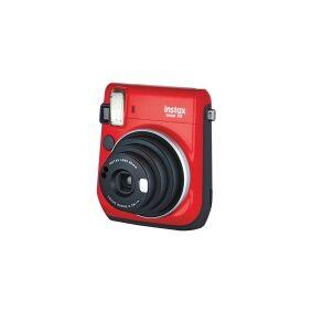 Fujifilm Instax Mini 70 - Øyeblikkskamera - linse: 60 mm rød