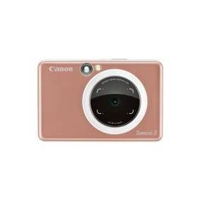 Canon Zoemini S - Digitalkamera - kompakt med instant photo printer - 8.0 MP - Bluetooth, NFC - rosagull
