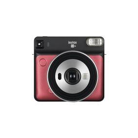 Fujifilm Instax SQUARE SQ6 - Øyeblikkskamera - linse: 65.75 mm rubinrød