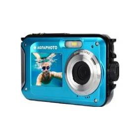 AgfaPhoto Digital Camera Underwater Camera 24MP Video Hd 3m Agfa Photo/Blue