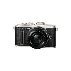 Olympus PEN E-PL8 - Digitalkamera - speilløst - 16.1 MP - Four Thirds - 1080 p / 30 fps - kun hus - Wi-Fi - svart