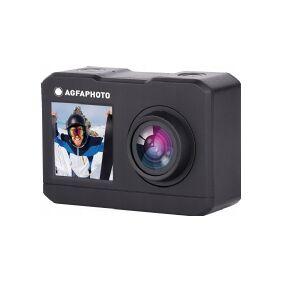 AgfaPhoto Camera Agfa Ac7000 Sports Camera 2.7k 16MP Wifi 2x Lcd Accessories
