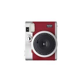 Fujifilm Instax Mini 90 NEO CLASSIC - Øyeblikkskamera - linse: 60 mm rød