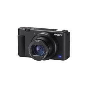 Sony ZV-1 - Digitalkamera - kompakt - 20.1 MP - 4K / 30 fps - 2.7optisk x-zoom - ZEISS - Wi-Fi - svart