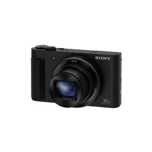 Sony Cyber-shot DSC-HX90V - Digitalkamera - kompakt - 18.2 MP - 1080 p - 30optisk x-zoom - Carl Zeiss - Wi-Fi, NFC - svart