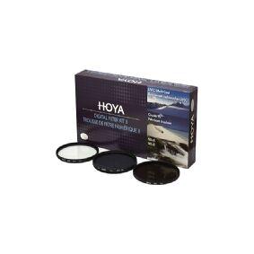 Hoya DIGITAL FILTER KIT II, 7,7 cm, Camera filter kit, 3 stykker