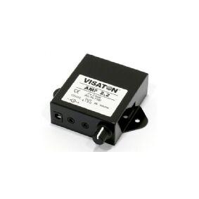 Visaton AMP 2.2, 2.0 kanaler, 3,3 W, 61 dB, 3,3 W, 2,1 W, 60 mV
