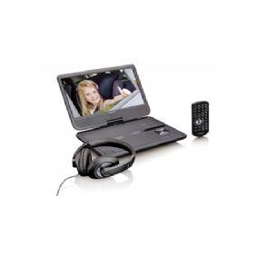 Lenco DVP-1010, Svart, CD,DVD, NTSC,PAL, 25,4 cm (10), 1024 x 600 piksler, 16:9