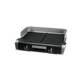 SEB Tefal TG 8000 Family Favor Grill - Grill - elektrisk - 1400 kvadratcentimeter - svart / sølv
