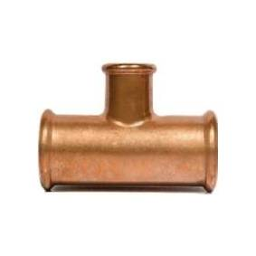 CSDK-SL T-stykke kobber press 15X12X15mm Skal presses med M-bakker