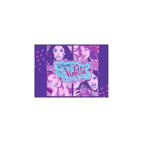 Associated Weavers Disney Violetta Tæppe til børn 01 - 95 x 133 cm