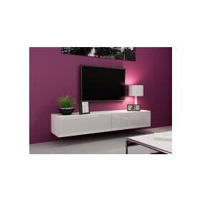 Cama Meble Cama TV Stand VIGO '180' 30/180/40 baltas gloss