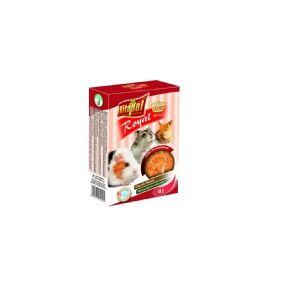 Vitapol zvp-1012, Snack, 40 g, Hamster, Mus, Kanin, Vitamin B1, Vitamin B2, Vitamin B6, Vitamin C, Vitamin E, Vitamin H (biotin), Vitamin K