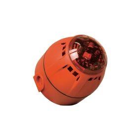 ComPro Kombi-signalgiver LED Chiasso Razor Blitzlys, Halvtoner 12 V/DC, 24 V/DC 100 dB