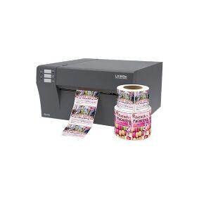 Primera LX910e - Etikettskriver - farge - ink-jet - Rull (21,3 cm) - inntil 114 mm/sek - USB 2.0 - kutter