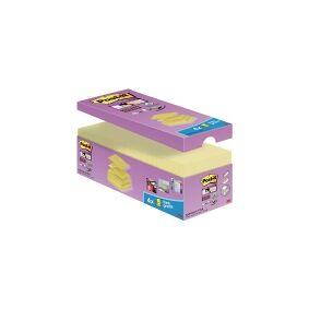 3M Post-it super sticky z-notes, 76 x 76 mm, gul, pakke a 20 blokke