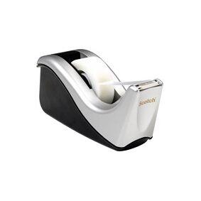 3M Scotch C60 - Dispenser - skrivebord - svart/sølv-dispenser