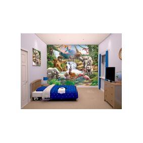Walltastic Jungle Safari tapet 243 x 305 cm