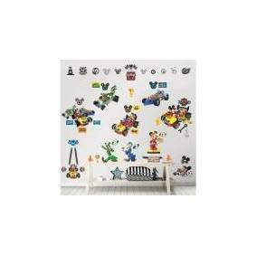 Walltastic Mickey Mouse Roadster Racer Wallstickers