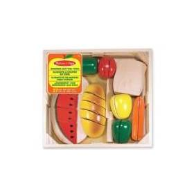 Melissa & Doug Wooden cutting fruits and vegetables (10487 MELISSA)