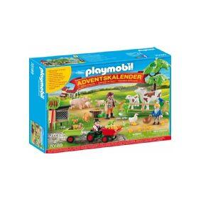 Playmobil 70189 - julekalender 24 låger - På bondegården/gården