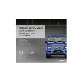 Franzis Verlag Mercedes-Benz G-Klasse Julekalender Samlesæt fra 14 år