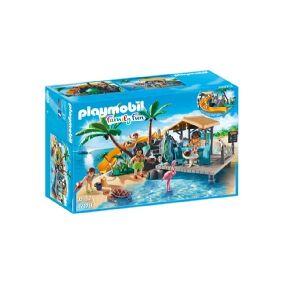Playmobil FamilyFun Island Juice Bar, Action/ Eventyr, 6 år, Flerfarget, 12 år, Mennesker, Kjæledyr, Ville dyr, 8 stykker