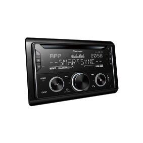 Pioneer FH-S820DABAN, Svart, 2 DIN, 200 W, 4.0 kanaler, 50 W, Android,iOS