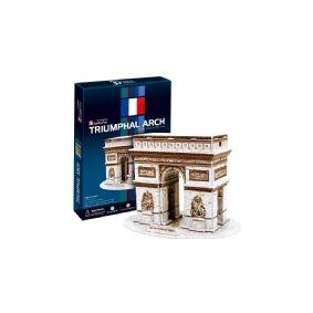 Cubic Fun CubicFun Arc De Triumph Paris France 3D Puzzle