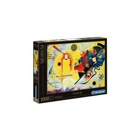 Clementoni Museum Collection - Kandinsky: Yellow-Red-Blue - puslespill - 1000 deler
