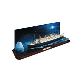 Revell Modelskib byggesæt Revell RMS Titanic + 3D Puzzle Eisberg 05599 1:600