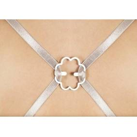 Bye Bra Curved Clips 4-Pack Pink