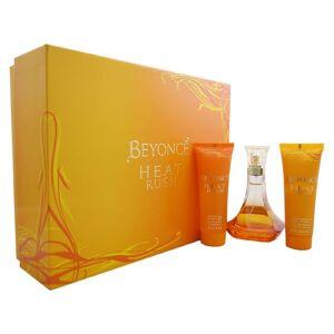 Beyoncé Beyonce Heat Rush Edt 100ml + Gold Shimmering Body Cream 75ml +energizing Shower Gel 75ml Giftset