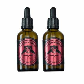 Beard Monkey 2-Pack Beard Monkey Beard & Hair Oil Light Orange & Cinnamon 50ml