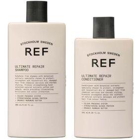 Ref Ultimate Repair Shampoo 285ml +  Conditioner 245ml + Fiber Mousse 75ml Box