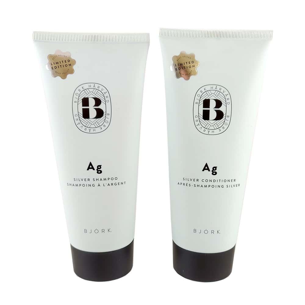 Björk Ag Silver Duo Shampoo 200ml + Conditioner 200ml