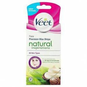 Veet Face Precision Wax Strips All Skin Types 20st