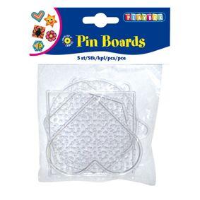 Playbox Transparent Pegboards, 5 Stk