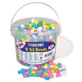 Playbox Xl Pärlhink, Ca 950 Stykker, Pastellfarger
