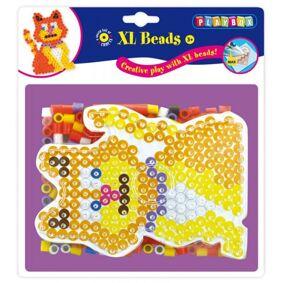 Playbox Perler Og Pärlplatta, Diy Xl Pärlset Katt