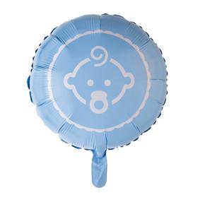 Hisab joker Foil Balloon Baby, Blå, 46 Cm