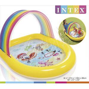 Intex Rainbow Pool Med Spray