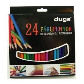 Dynas Fargeblyanter I Tre 24-Pakning