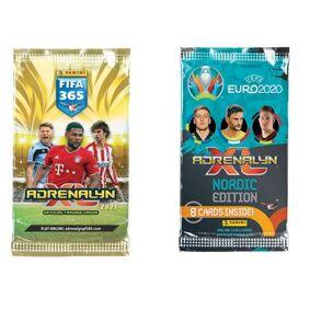 Fifa 2020/21 Og Uefa Euro 2020 Fotball Booster Kort Samlekort