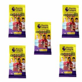 Premier League 5-Pack Premier League 2020/21 Fotball Kortene Trading Cards Booster
