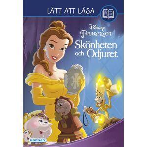 Disney Beauty & The Beast, Lett Å Lese Bok