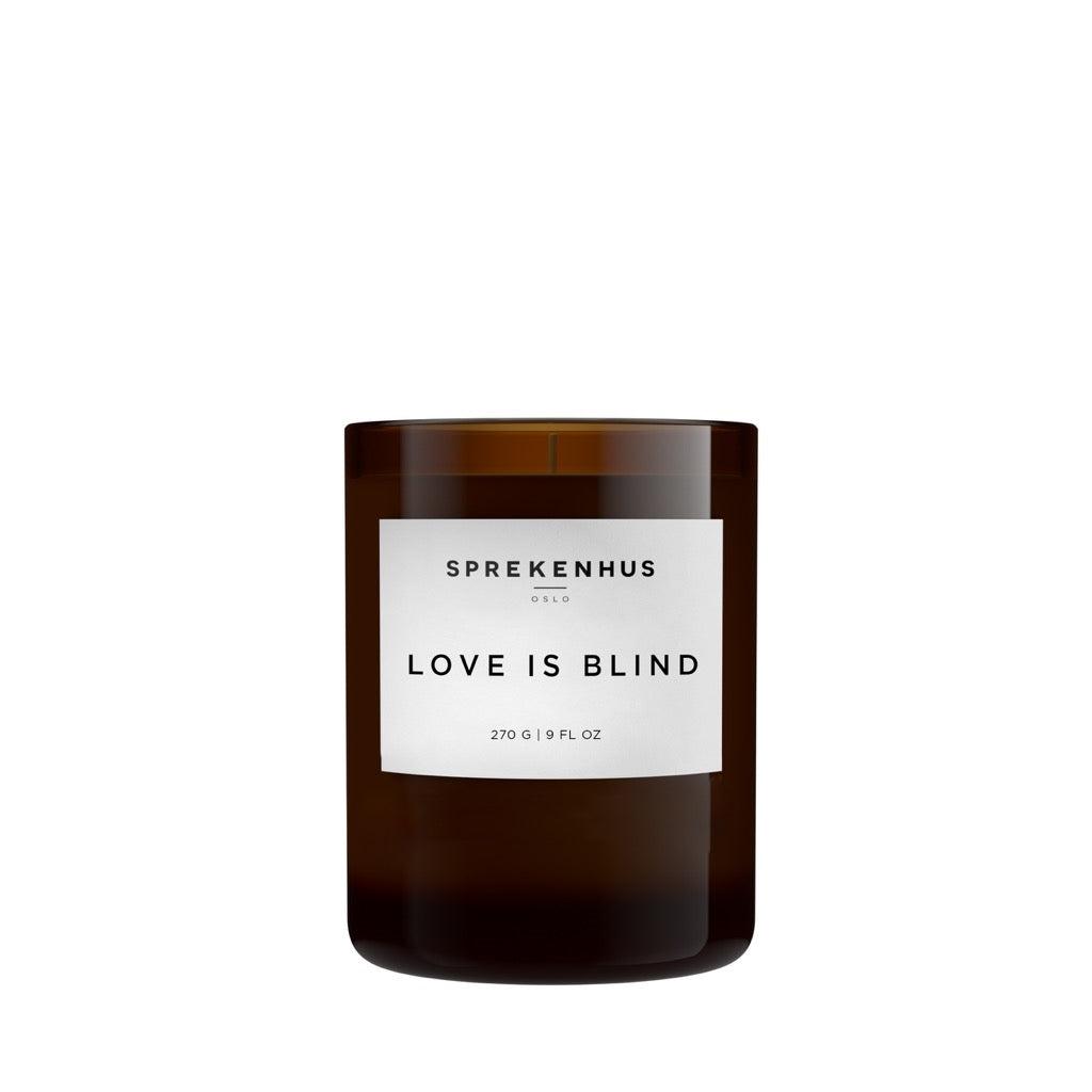 Sprekenhus Love Is Blind Scented Candle Duftlys Gjennomsiktig  unisex