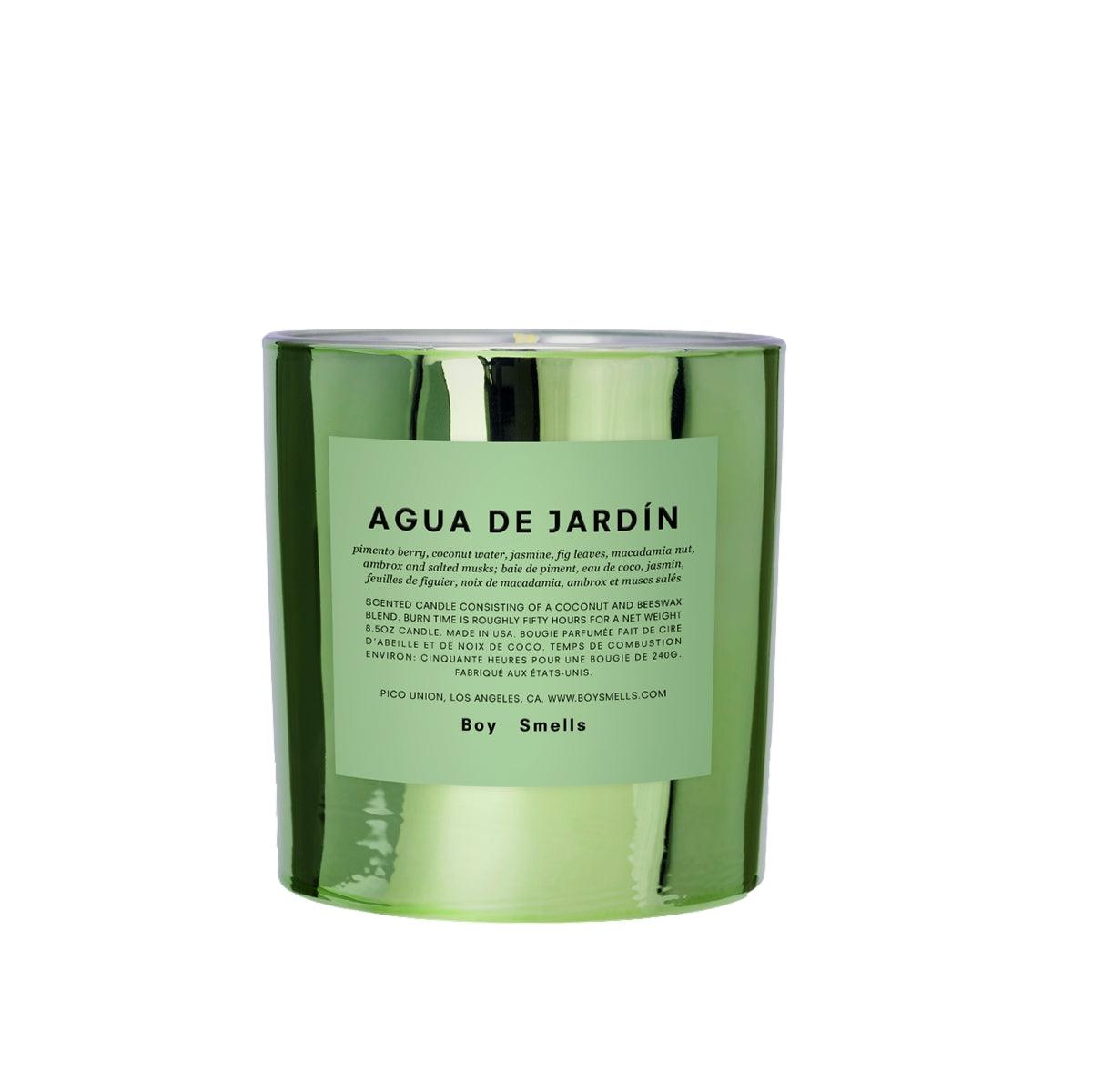 Boy Smells Agua De Jardin Candle Duftlys Grønn